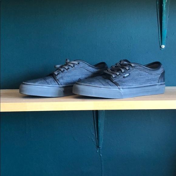 217091f9ca Vans Shoes - Denim Vans ultracush HD Pro